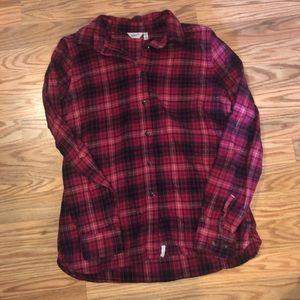 Two Woolrich flannels